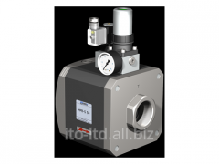 The valve with HPB-S 50 pneumatic actuator