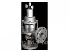 The valve with HPB 65 pneumatic actuator