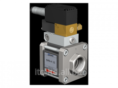 The valve with SPB-H 15 pneumatic actuator