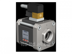 The valve with SPB-N 32 pneumatic actuator