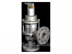 The valve with SPB 65 pneumatic actuator