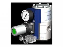The valve with HPI 08 pneumatic actuator