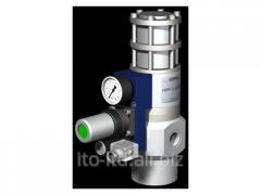 Клапан с пневмоприводом HPP-3 15 PC