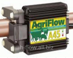 The device flocculating Agriflou A-45 for fish