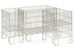 Basket for display goods, 180 liters of volume