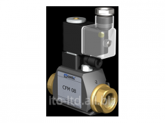 2/2 running coaxial valve with CFM 08 pneumatic