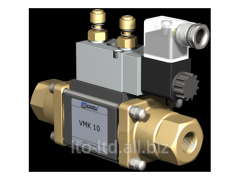 2/2 running coaxial valve with VMK 10 pneumatic
