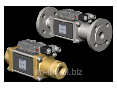 2/2 running coaxial valve with pneumatic actuator