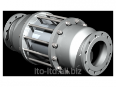 2/2 running coaxial valve with VSV-F 200 pneumatic