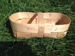 I will sell baskets, bast baskets from a hulled