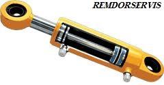 Truck crane hydraulic cylinder