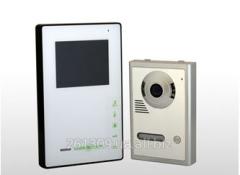 Комплект цветного видеодомофона Green Vision