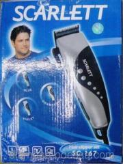 The machine for a hairstyle of hair of Scarlett