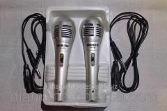 Karaoke microphone wire double SY-123