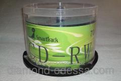 Disks CD-RW SmartTrack 700MB/80min 16-24x
