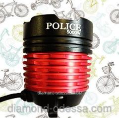 Lamp for the CREE XML T6 bicycle (1200 lumen, 3