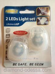 Lamp bicycle LED Hj008-2