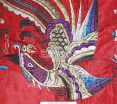 Embroidery machine Towels of tissues of Kryzhma