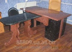Table Office of granite