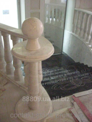 Steps and ladders from marble