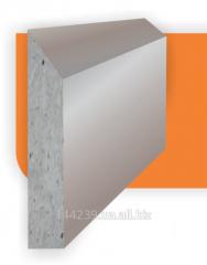 Защитный бордюр специальной формы для экономии полезной площади цеха