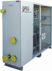 Evaporating units on the basis of FAS evaporators