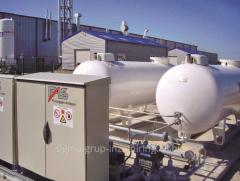 Станции автономного и резервного газоснабжени