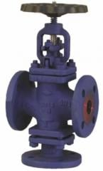 The locking PN40 valve in 3-running execution,