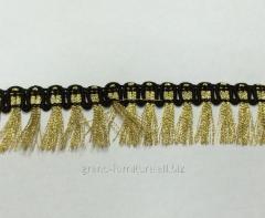 The fringe is textile, Arth. ZA-87 Width 2.5sm