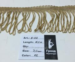 The fringe is decorative, Arth. A-07