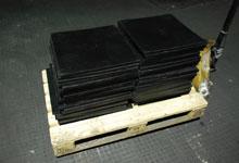 Plates are rubber vacuum, TU 38.105.116-81.