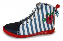 Boots are demi-season, an art. 1834