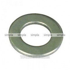 Washer of 10 flat GOST 11371 DIN125 galvanized