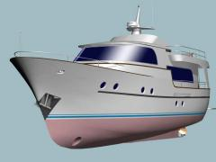 Motor yacht of the MARINER-60s projec