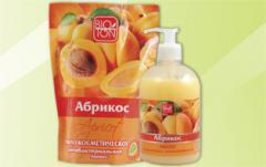 "Soap cosmetic antibacterial ""Apric"