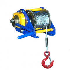 Winches manual rope g / p 250, 500, 1000 kg.