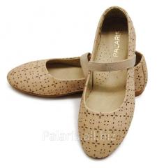 Flats beige Palaris 1946