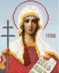 The scheme for embroidery the Icon Saint Tatyana