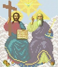 The scheme for embroidery the Icon the Holy