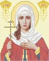 The scheme for embroidery Saint Larisa