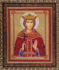 The scheme for embroidery by TM beads the