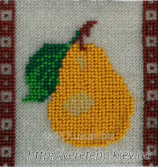 The scheme for embroidery by beads the Ukrainian -