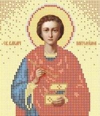 The scheme for embroidery Saint Panteleymon's