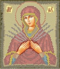 The scheme for Ikona Semistrelnaya embroidery