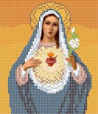 The scheme for embroidery the Icon Maria's