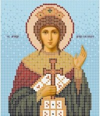 The scheme for embroidery Saint Aleksandra