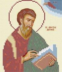 The scheme for embroidery Saint Apostle Matthew
