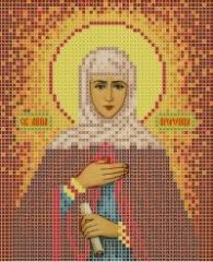 The scheme for embroidery Saint Anne