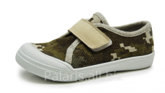 Sneakers on Palaris 2050-370116 flypaper, the