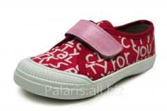 Sneakers on Palaris 2050-370316 flypaper, the